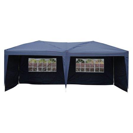 Zimtown 10'x 20' 4 Walls Pop up Outdoor Instant Folding Wedding Canopy Party Tent Gazebo EZ