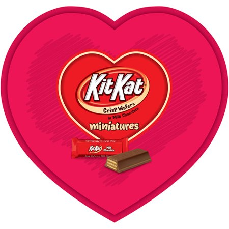 kit kat crisp wafers miniatures valentines heart - Valentines Day In Dc