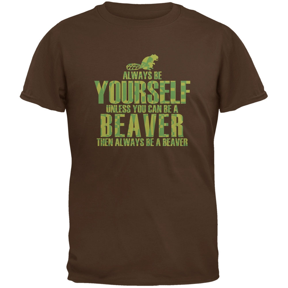 Always Be Yourself Beaver Brown Youth T-Shirt