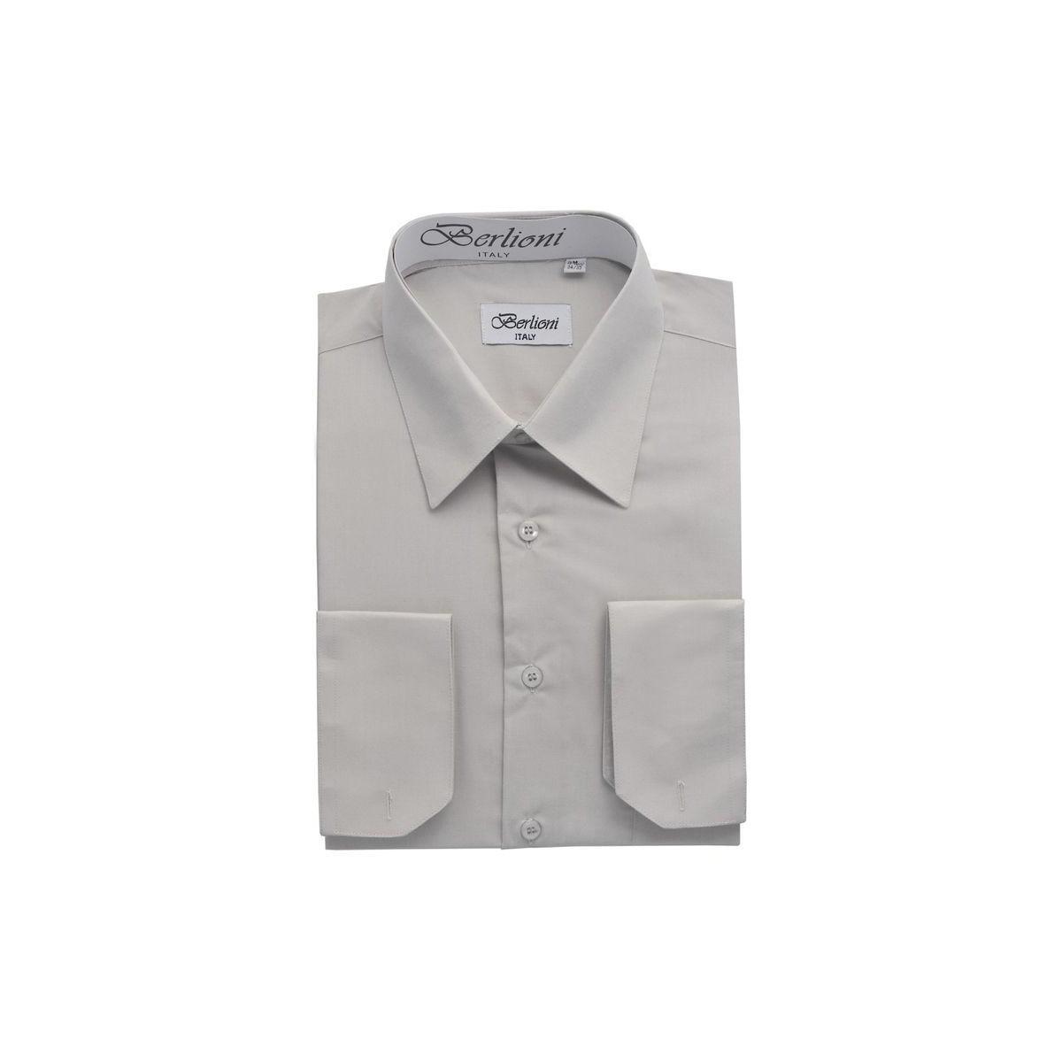 16 1//2 32-33 Men/'s cream color long sleeves dress shirts