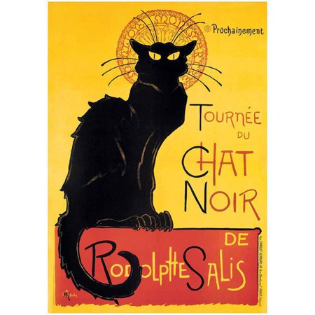 Steinlen Chat Noir Vintage Advertising Art Print