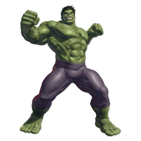 Decalcomania Marvel Hulk Augmented Reality Wall Decal (Hulk Wall Decal)