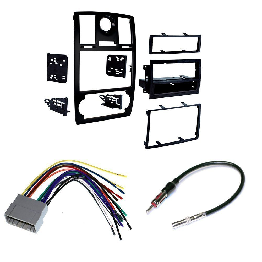 2005-07 Chrysler 300 CAR STEREO INSTALL MOUNTING KIT WIRE HARNESS AND RADIO  ANTENNA - Walmart.com - Walmart.comWalmart.com