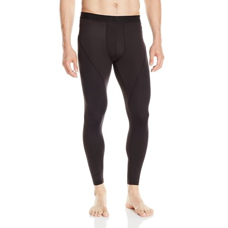 ClimateSmart Men's FlexFit Lightweight Baselayer Long Pant Black