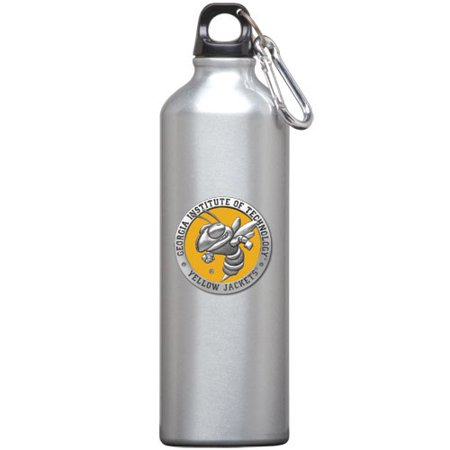 Stainless Steel Jacketed Tank - Georgia Tech Yellow Jackets Stainless Steel Water Bottle Mascot Logo