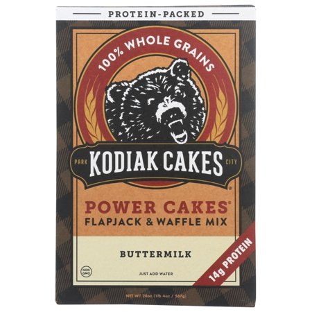 Kodiak Cakes Power Cakes Buttermilk Pancake and Waffle Mix, 20 Oz