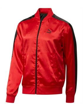 ad0f98efc2146 Product Image Puma Mens Reversible Satin Track Jacket