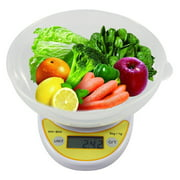 Digital Kitchen Scale Electronic Weight Diet Food 5KG 11LBS x 1g with Bowl