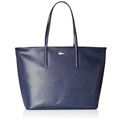 Lacoste women's chantaco medium tote shoulder bag, peacoa...
