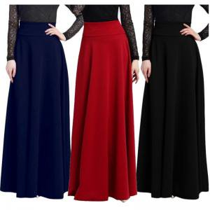 - EFINNY Women's Gypsy High Waist Maxi Full Length Skirts