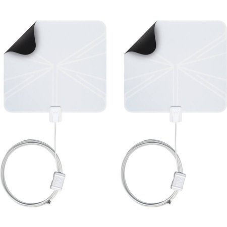 Winegard FL5500a Flatwave Amplified HDTV Indoor Antenna, Pack of
