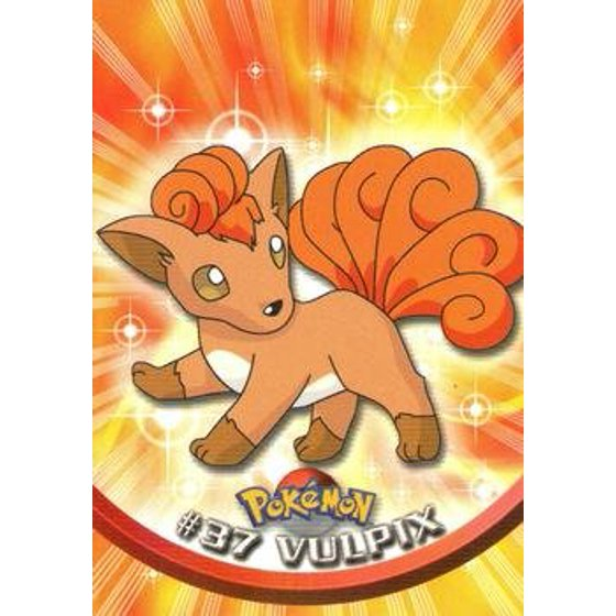Pokemon Card Vulpix 37 Topps A Single Individual Card From The