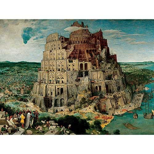 Ravensburger The Tower of Babel Puzzle, 5,000 Pieces by Generic