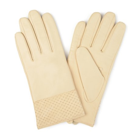 Womens Genuine Leather Fashion Gloves