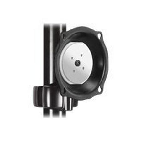 "Chief Universal Pivot/Tilt Pole Mount JPPVB - Mounting kit ( interface bracket, tilt/pivot pole mount ) for LCD display - black - screen size: 26"" - 45"""
