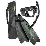 Mares Instinct Pro Polytec Freediving/Spearfishing Mask Fin Snorkel Set