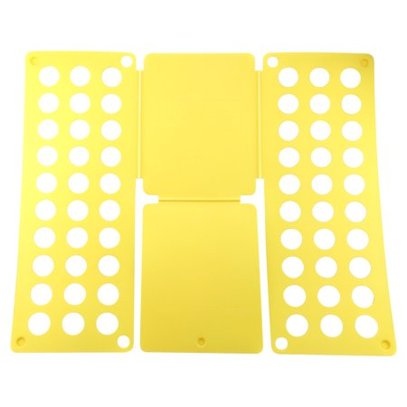 Felji Yellow Adult Dress T-Shirt Clothes Flip & Fold Folder Board Laundry Organizer ()