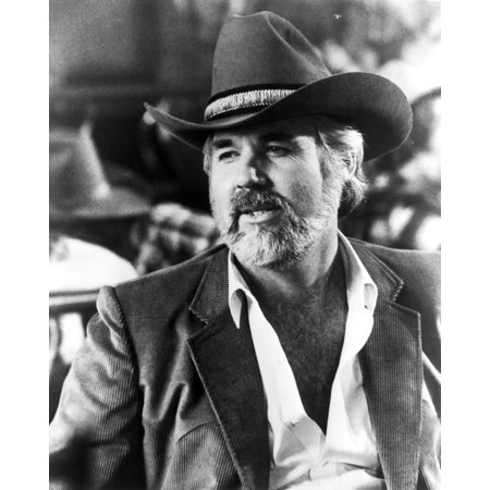 Kenny Rogers in Cowboy Outfit Close Up Portrait Print Wall Art By Movie Star News