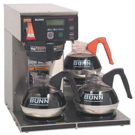 Bunn Axiom 1800 W Brewer   Stainless Steel   1800 W   1 56 Gal   12 Cup   Stainless Steel  Bun387000002