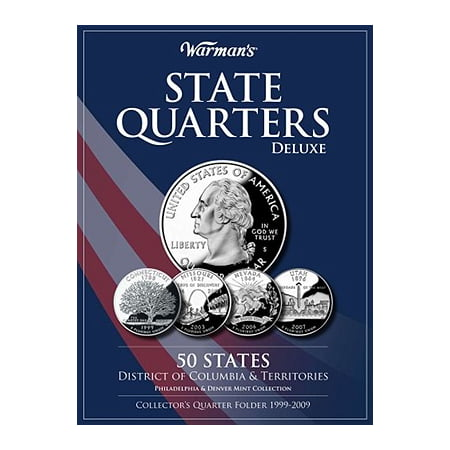 State Quarters Deluxe 50 States, District of Columbia & Territories: Philadelphia & Denver Mint Collection : Collector's Quarter Folder (Outlet Stores In Philadelphia)