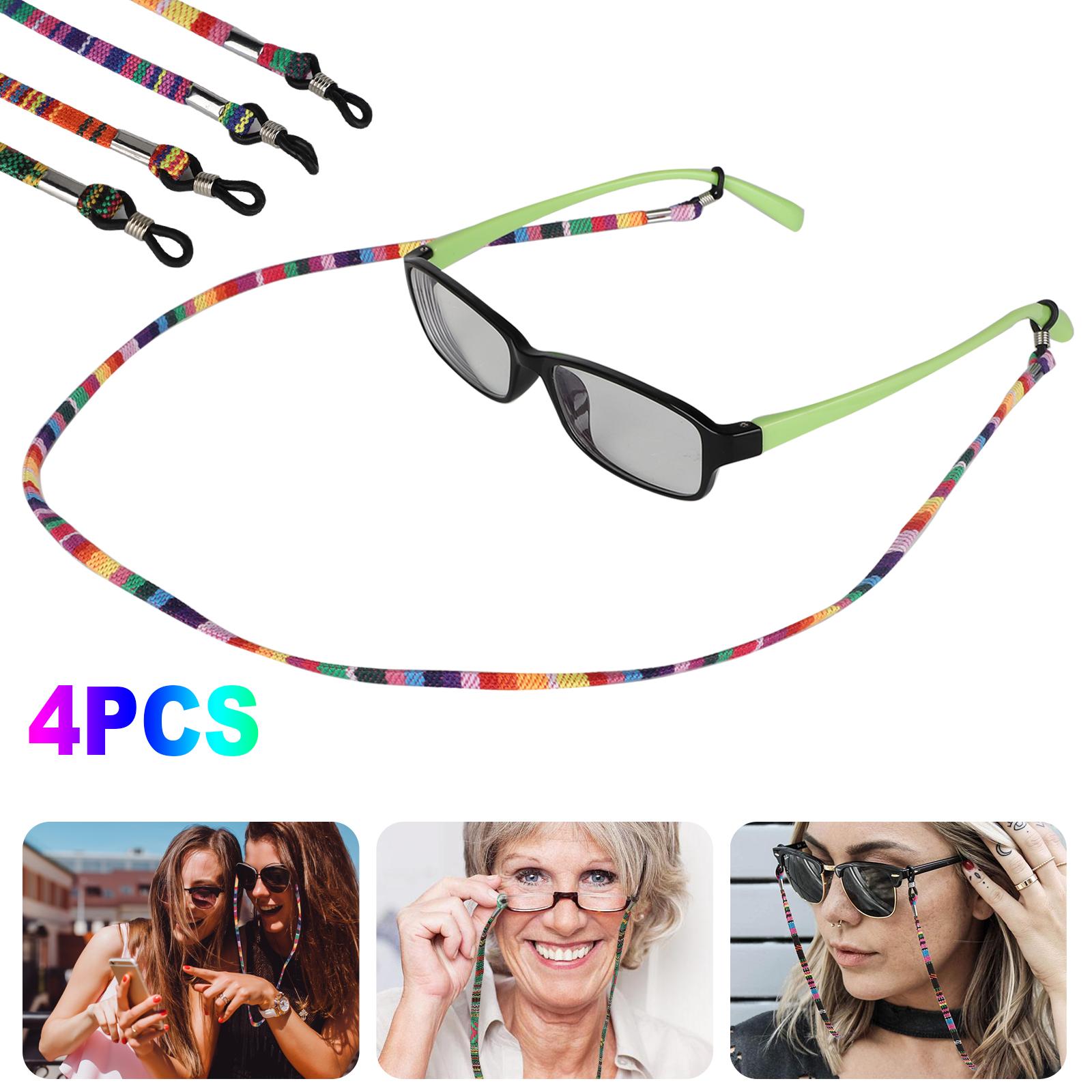 8 Pack Kids Silicone Anti-Slip Glasses Eyeglass Strap