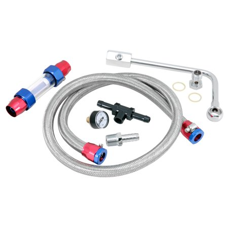Spectre Performance Edelbrock Fuel Line Kit 2985 (Edelbrock Fuel Rails)
