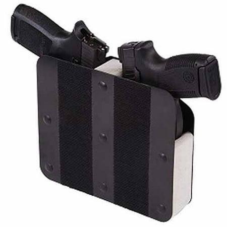 Gun Rack Accessories - Altus BenchMaster Two Gun Pistol Velcro Hook Rack