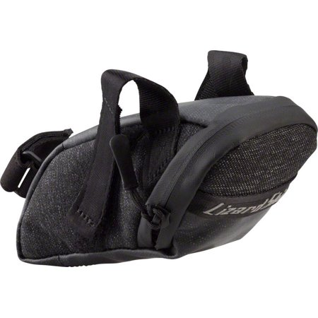 Lizard Skins Micro Cache Seat Bag: Jet Black