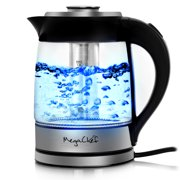 Best Electric Tea Kettle Cordlesses - MegaChef 1.8 Liter Stainless Steel Electric Tea Kettle Review