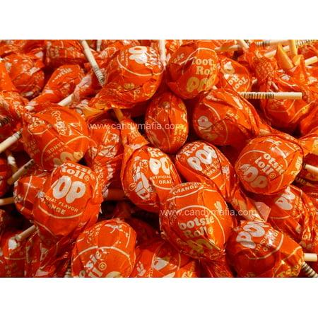 Orange Tootsie Pops 3 pound bag
