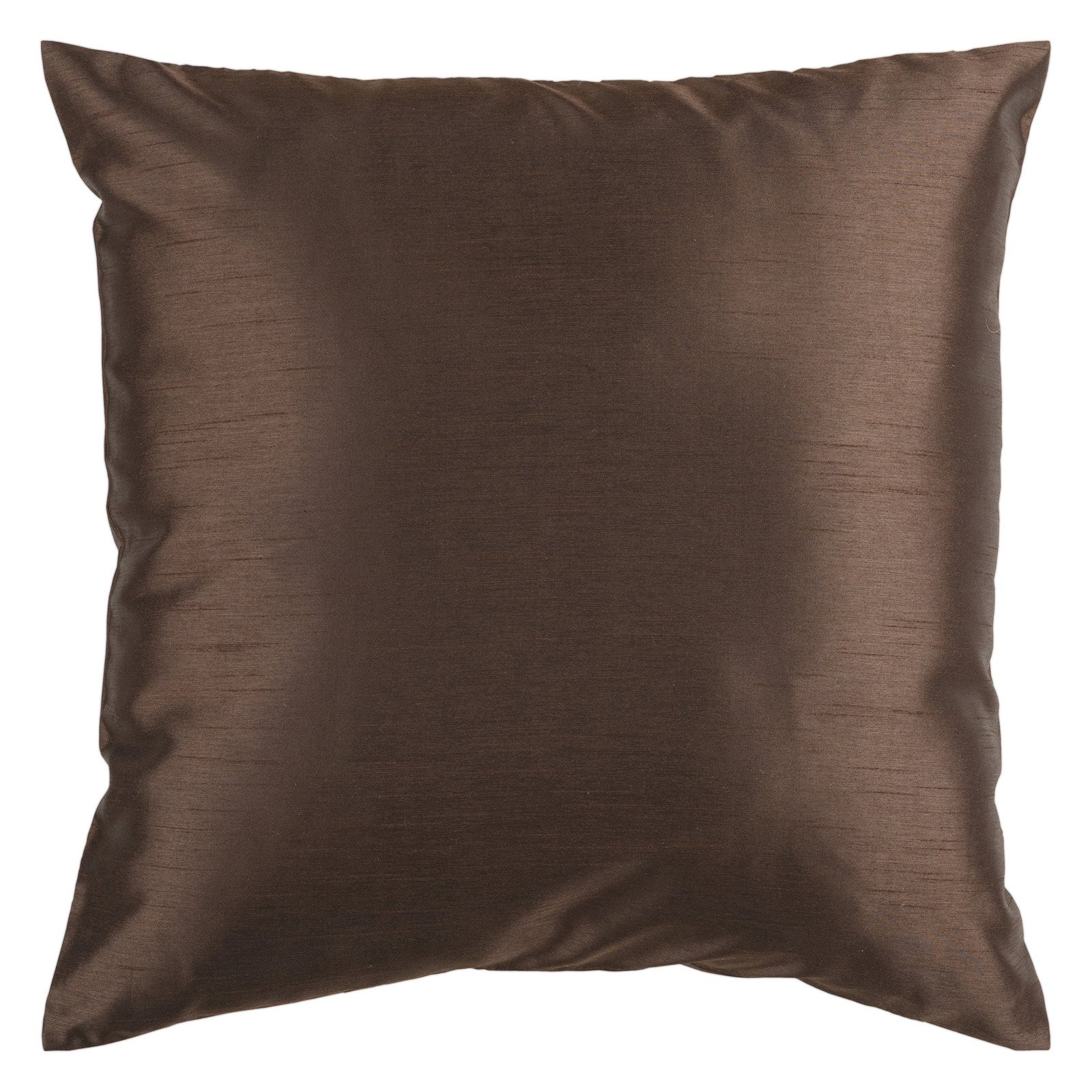 Surya Silk Lane Decorative Pillow - Brown