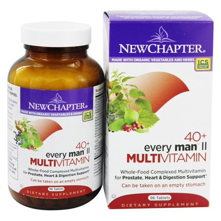 New Chapter - Every Man II multivitamines 40 Plus - 96 comprimés