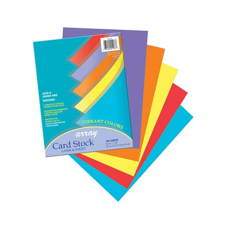 (2 Pk) Array Card Stock Vibrant - image 1 de 1