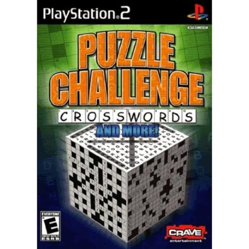 Crave 650008399516 Puzzle Challenge: Crosswords and More for PlayStation 2