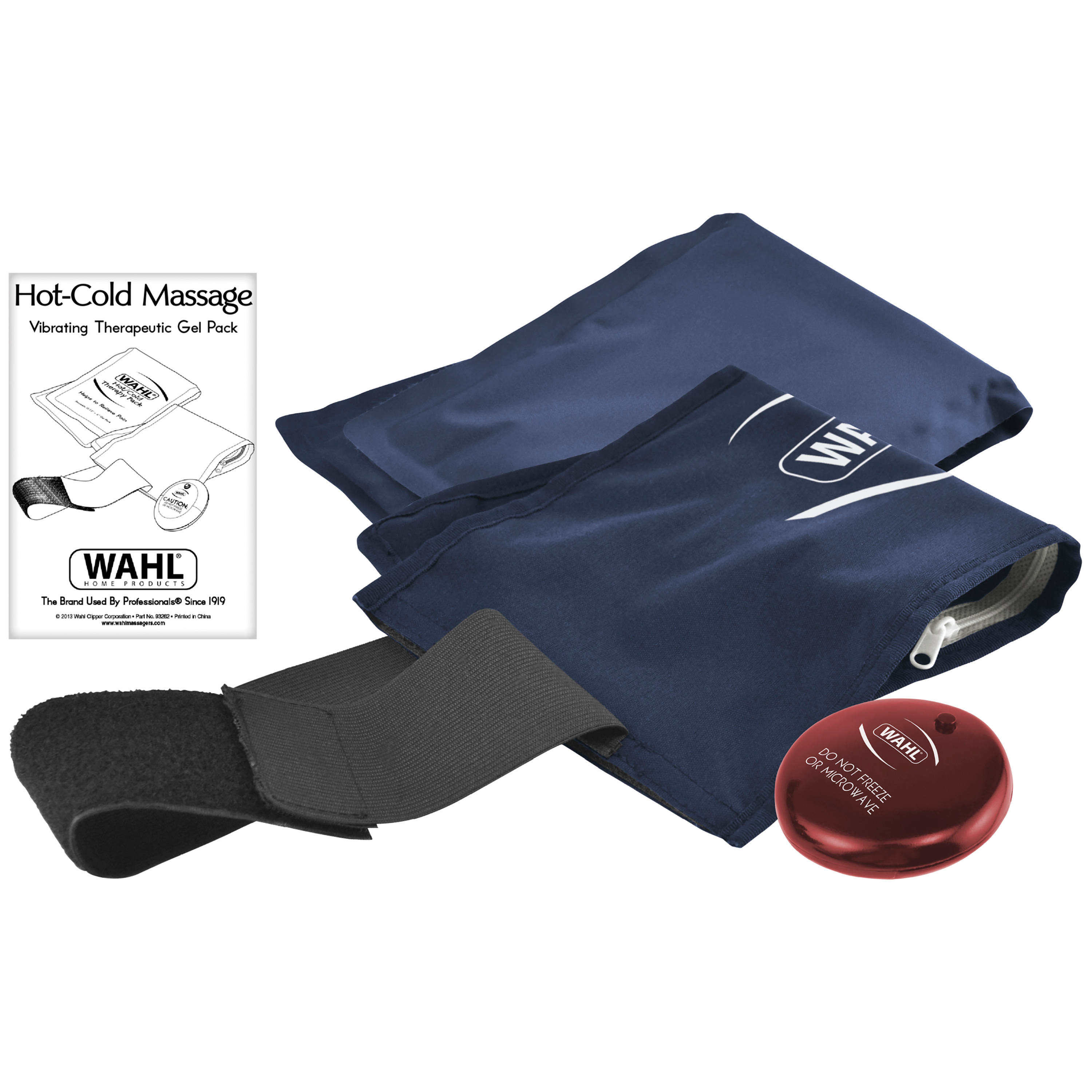 Wahl Hot-Cold Massage Vibrating Therapeutic Gel Pack, 97788-100