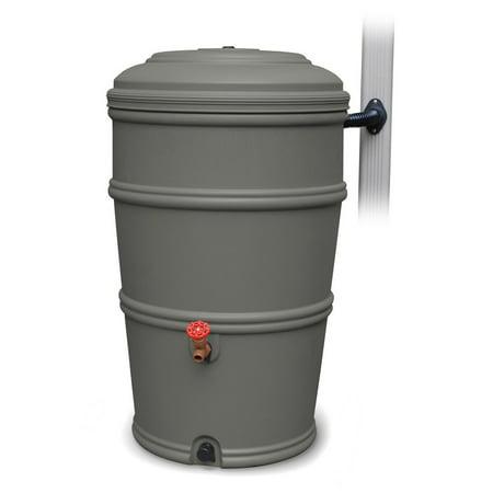 EarthMinded RainStation 50 gal. Rain Barrel with Diverter System