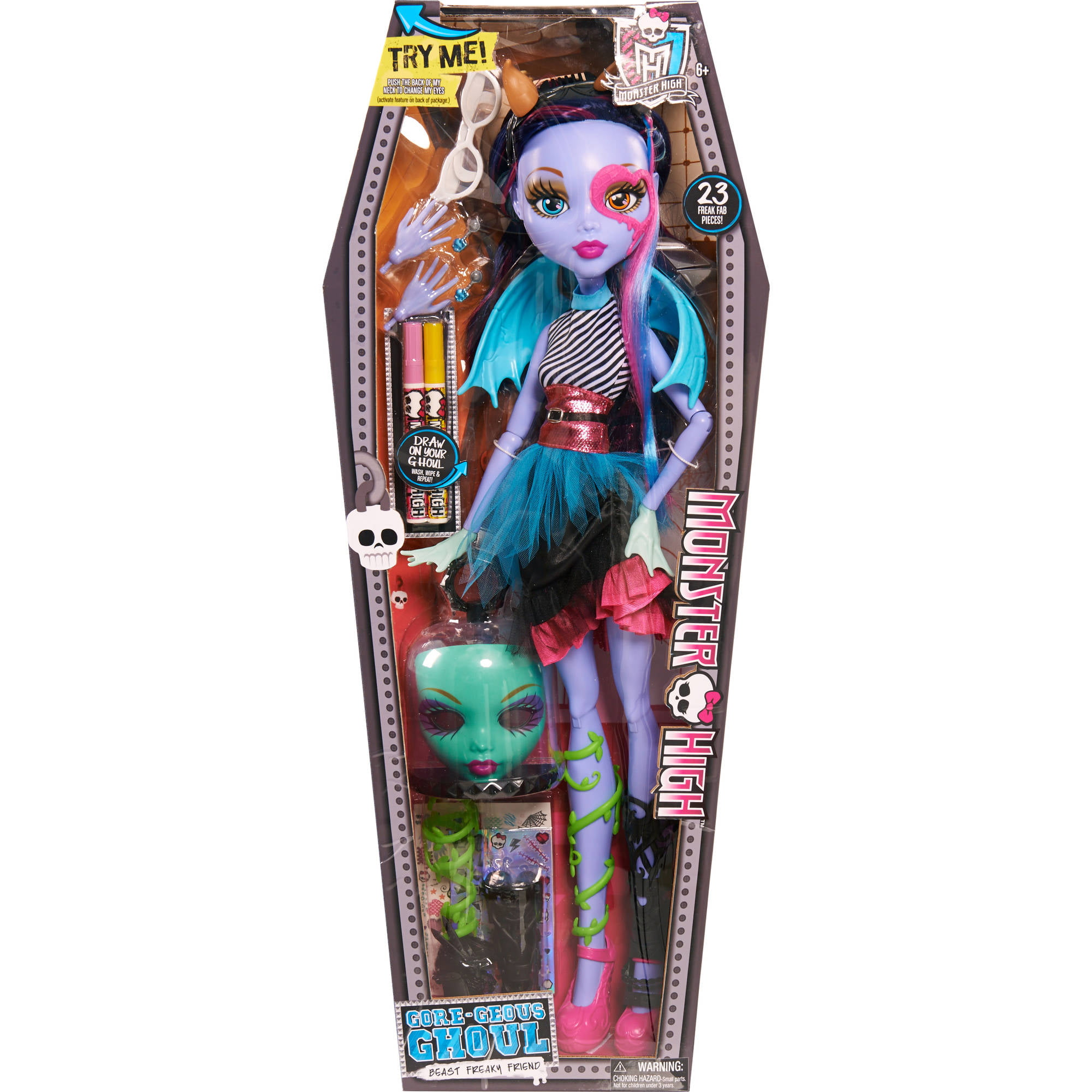 "Monster High 28"" Voltageous Ghoul Friend (Exclusive) by Just Play"