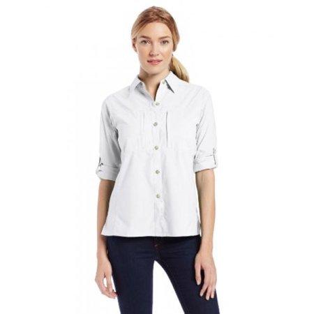 e9a46c36 ExOfficio - Exofficio Women's Dryflylite Long Sleeve, White, Medium -  Walmart.com