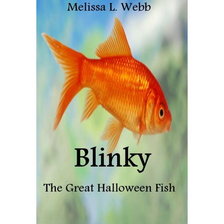 Blinky, The Great Halloween Fish - eBook - Halloween Fish Makeup Tutorial