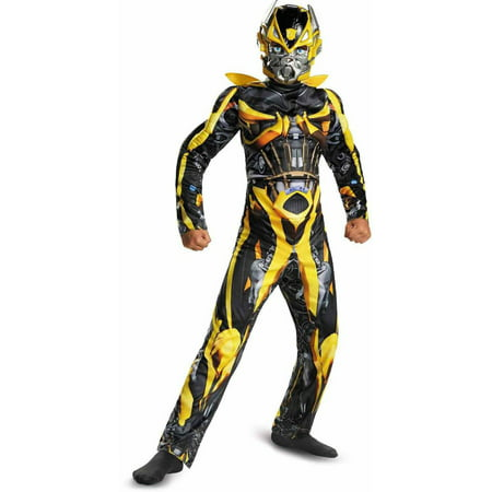 Salem On Halloween 2017 (Transformers 4 Age of Extinction Bumblebee Muscle Child Halloween)