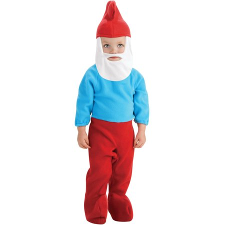 The Smurfs Baby Papa Smurf Young Children's Costumes - Papa Murphy's Halloween Pizza