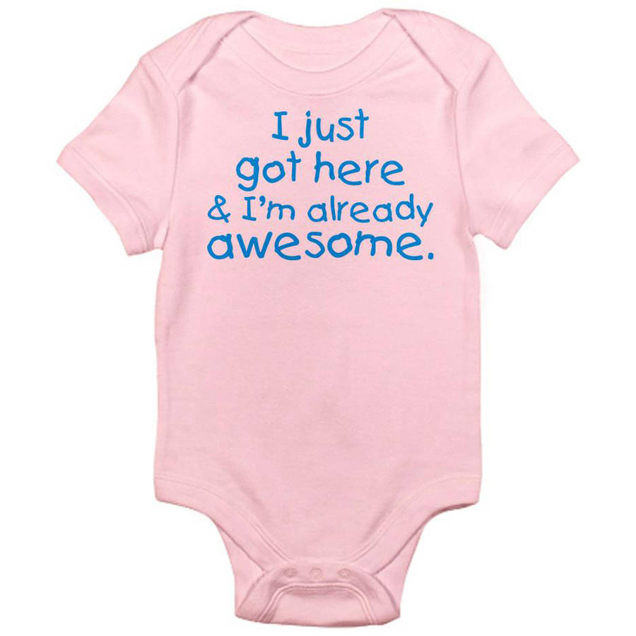CafePress Newborn Baby I'm Awesome Bodysuit