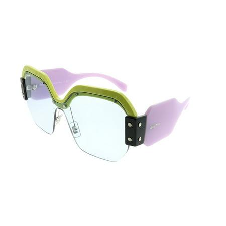 Miu Miu Sorbet MU 09SS VIV4Q2 Womens  Square Sunglasses ()