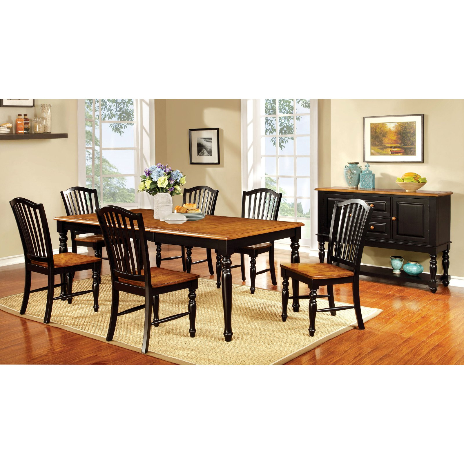 Furniture of America Drewes Dining Table