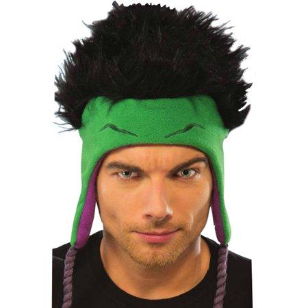 d048f669b0296 Deluxe Hulk Winter Toque Hat With Tassels Costumes Accessory - Walmart.com