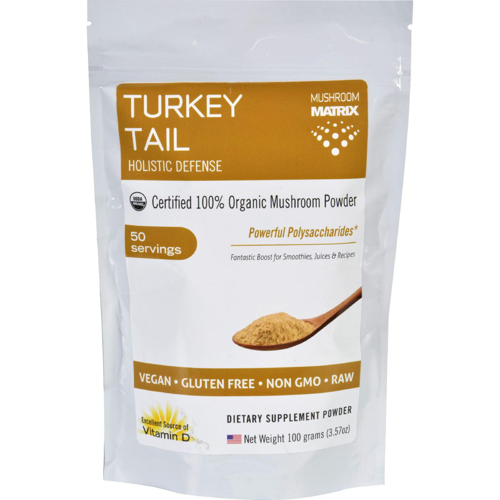 Mushroom Matrix Turkey Tail - Organic - Powder - 3.57 Ounce