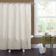 Rosely Ivory Shower Curtain