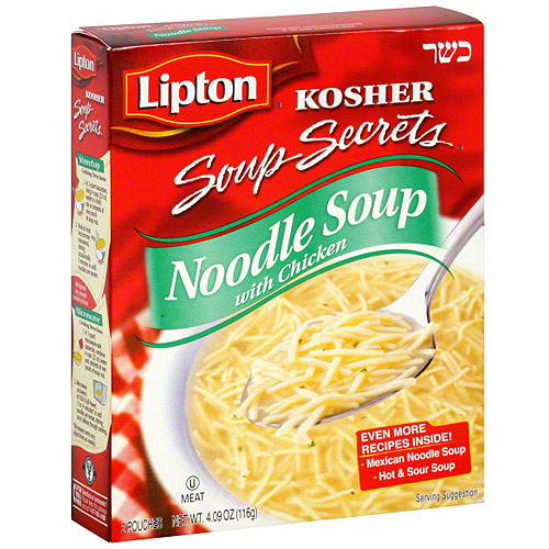 Lipton Noodle Chicken Flavor Soup , 2ct (Pack of 12)