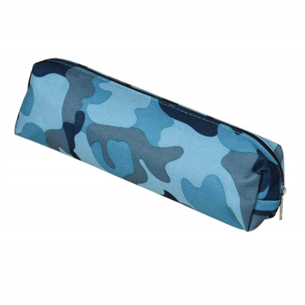 Boys Girls Camouflage School Supplies Pouch Purse Pencil Case Mini Bag Trendy