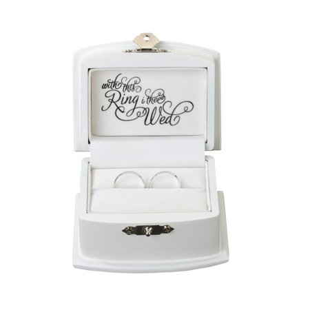 Ring Barer (Lillian Rose White Ring Bearer)